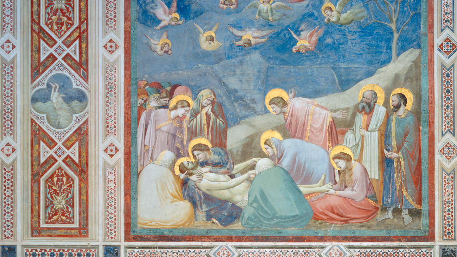 Giotto's <i>Lamentation</i> (1305-1306 painting