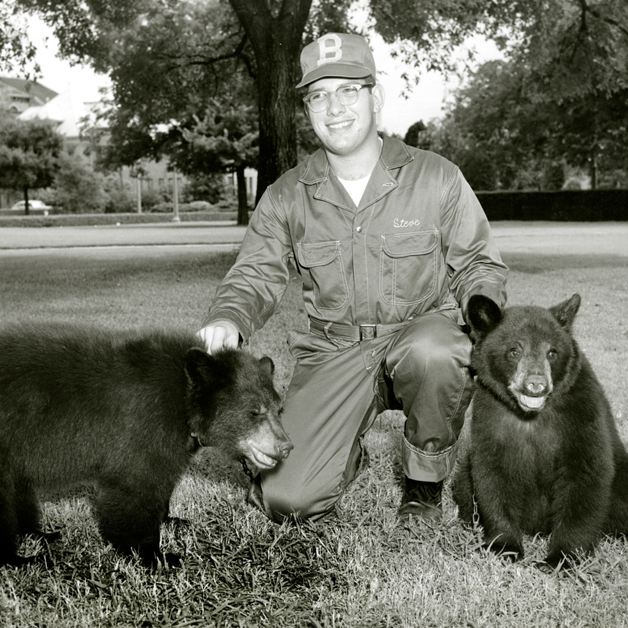 Bear Trainer with Mascot
