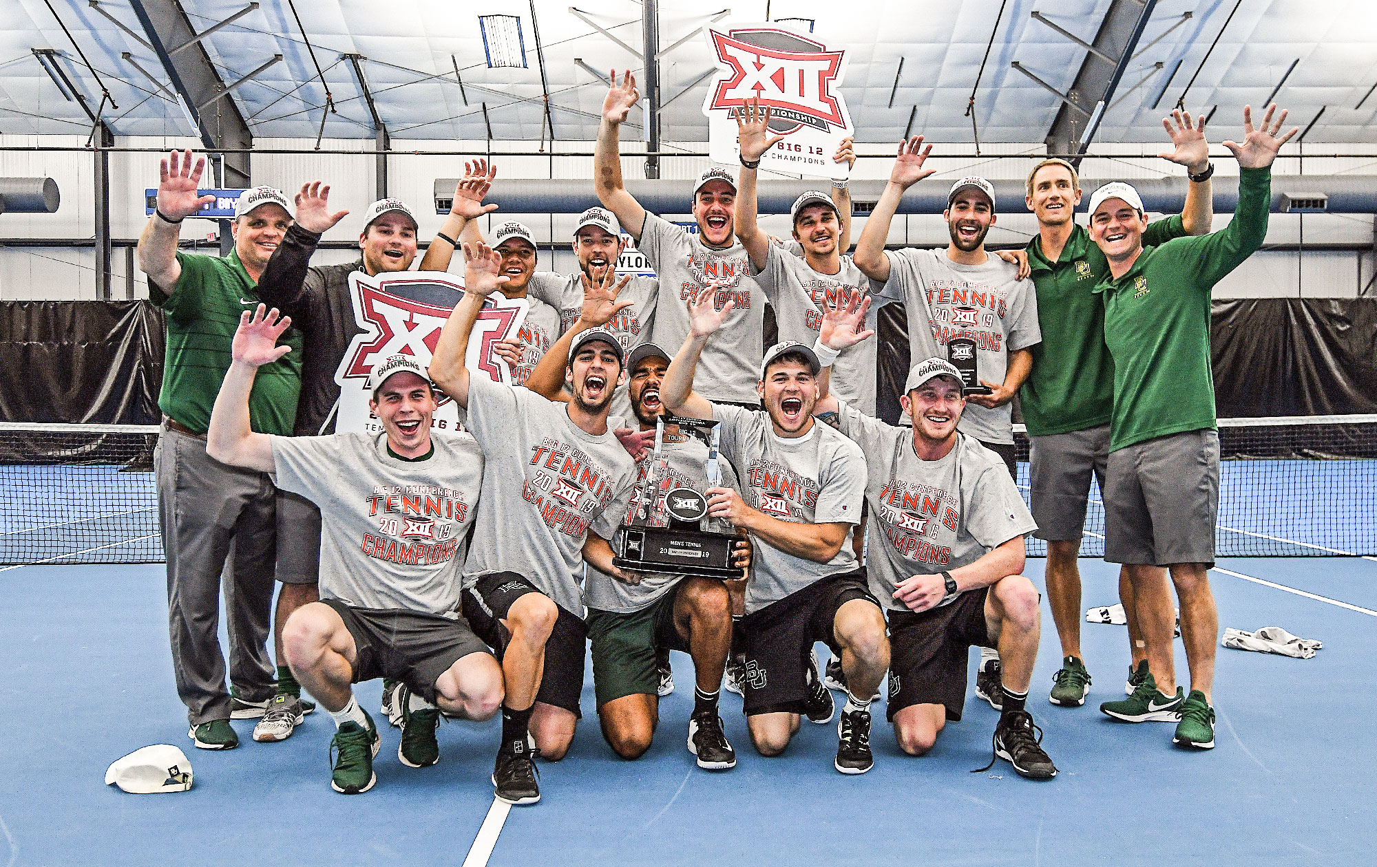 Men's Tennis Claims Big 12 Title