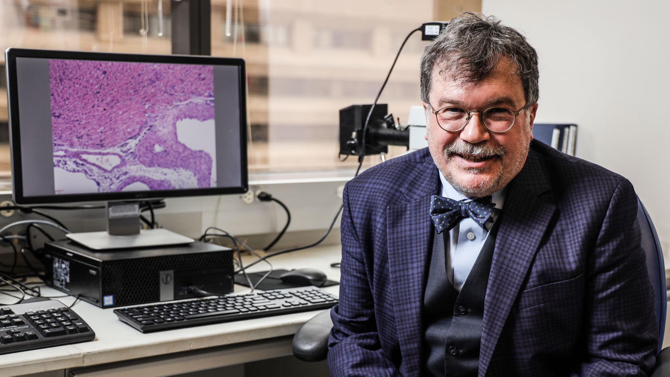 Peter Hotez, National School of Tropical Medicine dean, Baylor College of Medicine professor, University Professor at Baylor University, and co-director of the Texas Children's Hospital Center for Vaccine Development