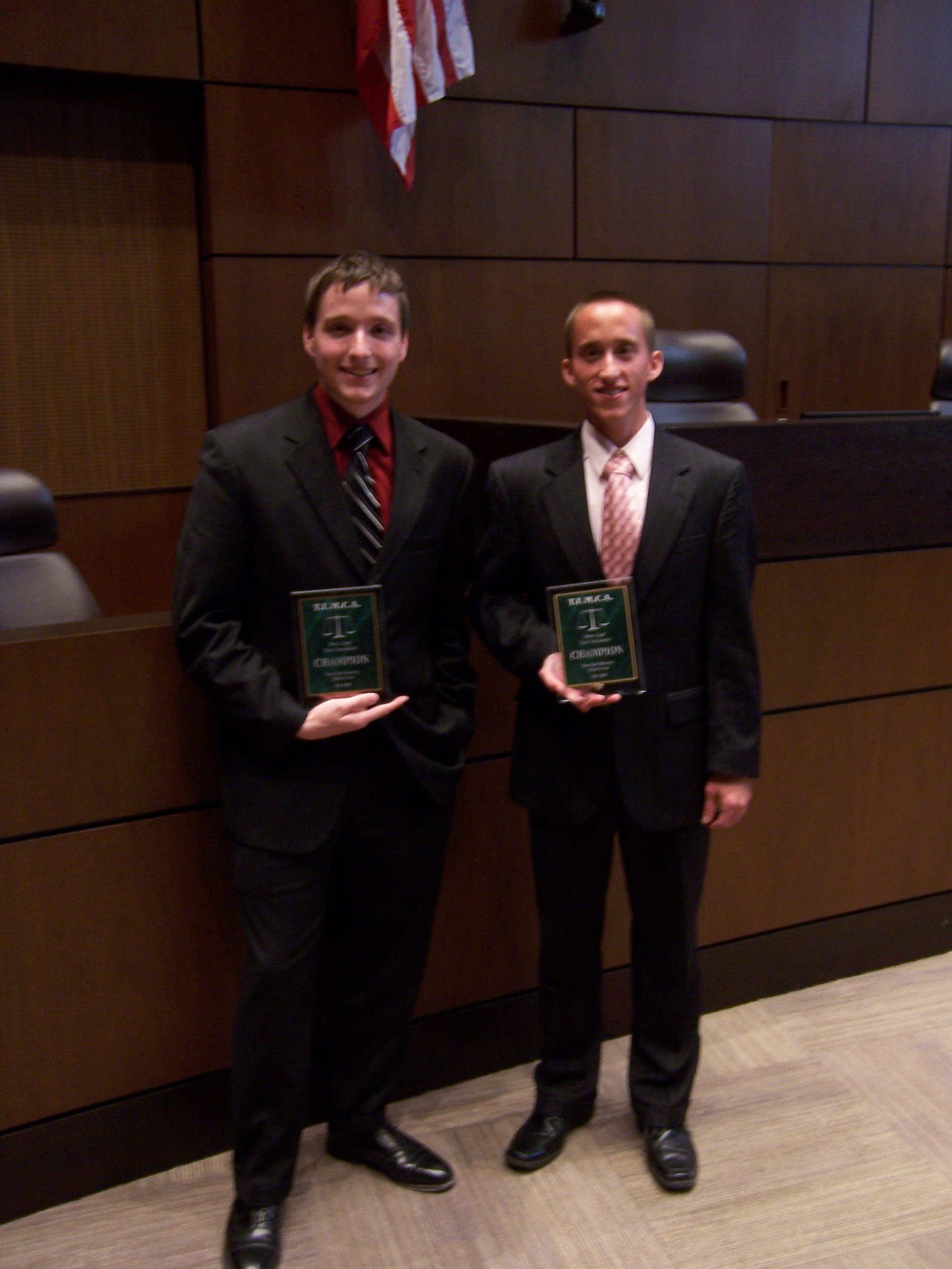 Moot Court_Texas Tech 2009 Erik and Ray