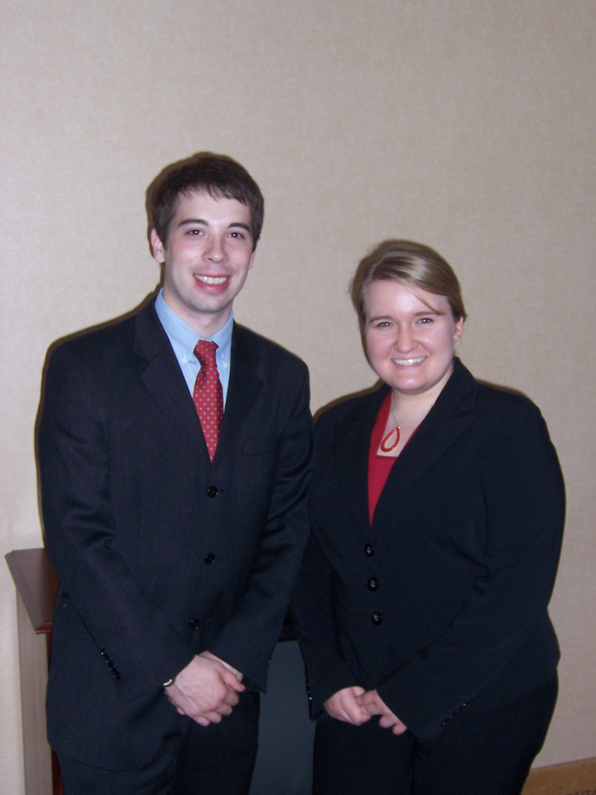 Moot Court_Texas Tech 2009 Meaghan and David