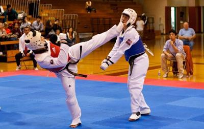 Taekwondo - action