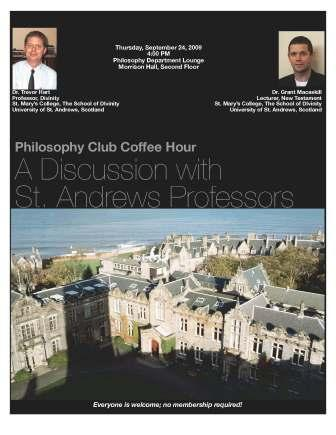 St. Andrews Professors present on Milton, The Dark Knight, and the Problem of Evil - Sept 24