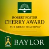 Robert Foster Cherry Award 2009