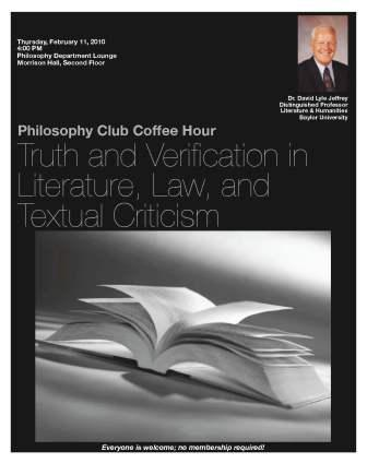 Philosophy Club - Feb 11
