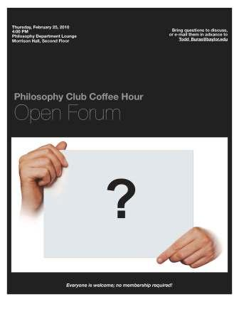 Philosophy Club - Feb 25