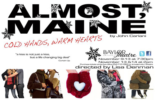 Almost, Maine Logo