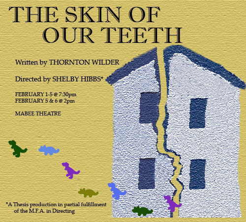 The Skin of Our Teeth Logo
