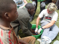 News - Baylor Athletes Aid Jigger Victims On African Mission 10.06.23, 4 of 6