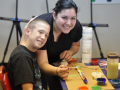 News - Autistic Children Hit Developmental Milestones in Camp Art Class 10.07.15, 4 of 5