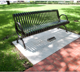 Campus Memorial Tributes Bench 001