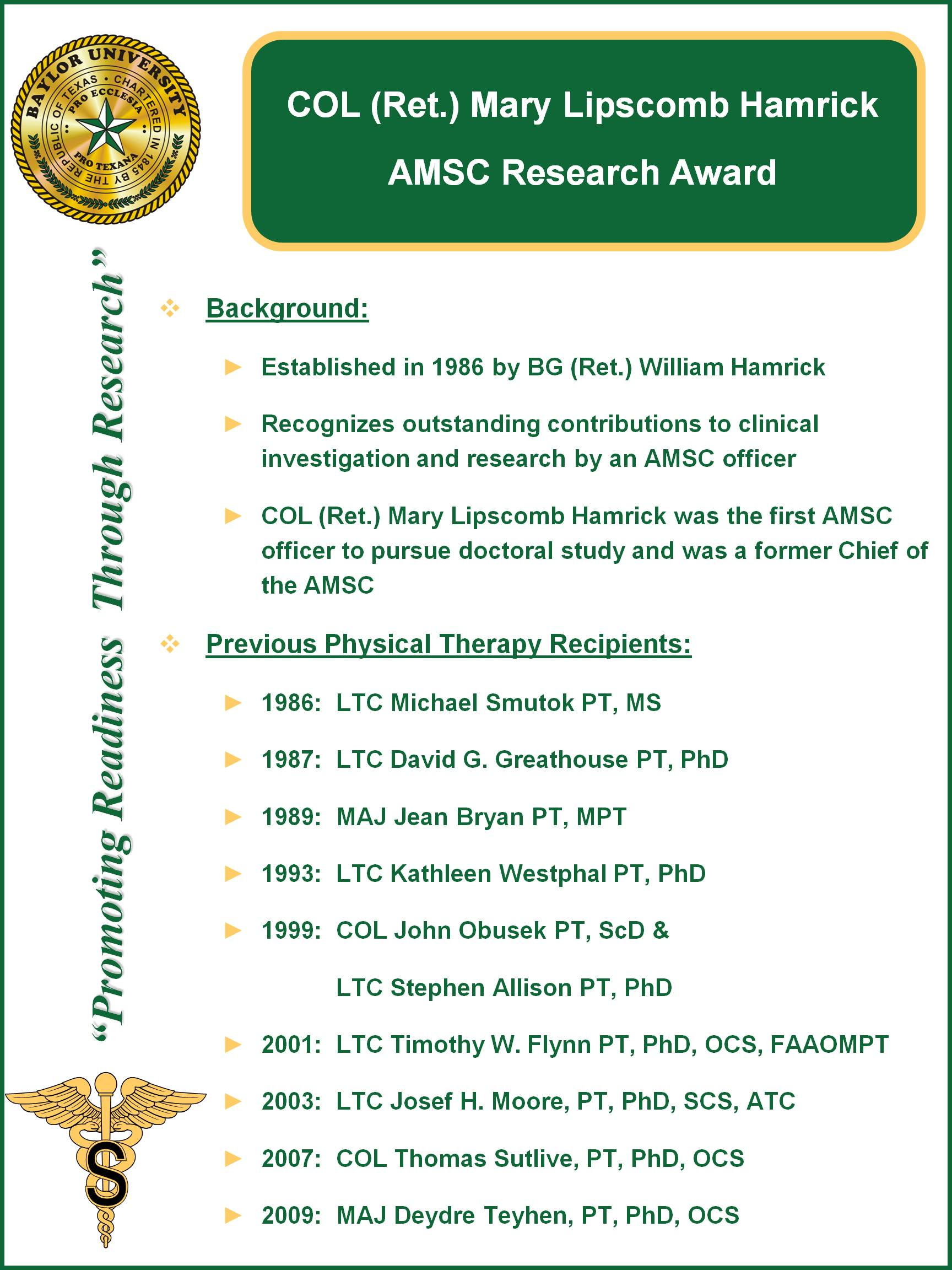 MLH Award