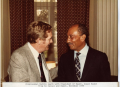 Marvin Leath with President of Egypt
