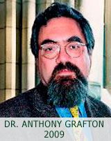 ANTHONY GRAFTON 2009