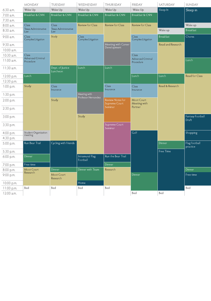 Rafael Schedule