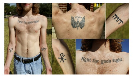 Hebrew Religious Tattoos