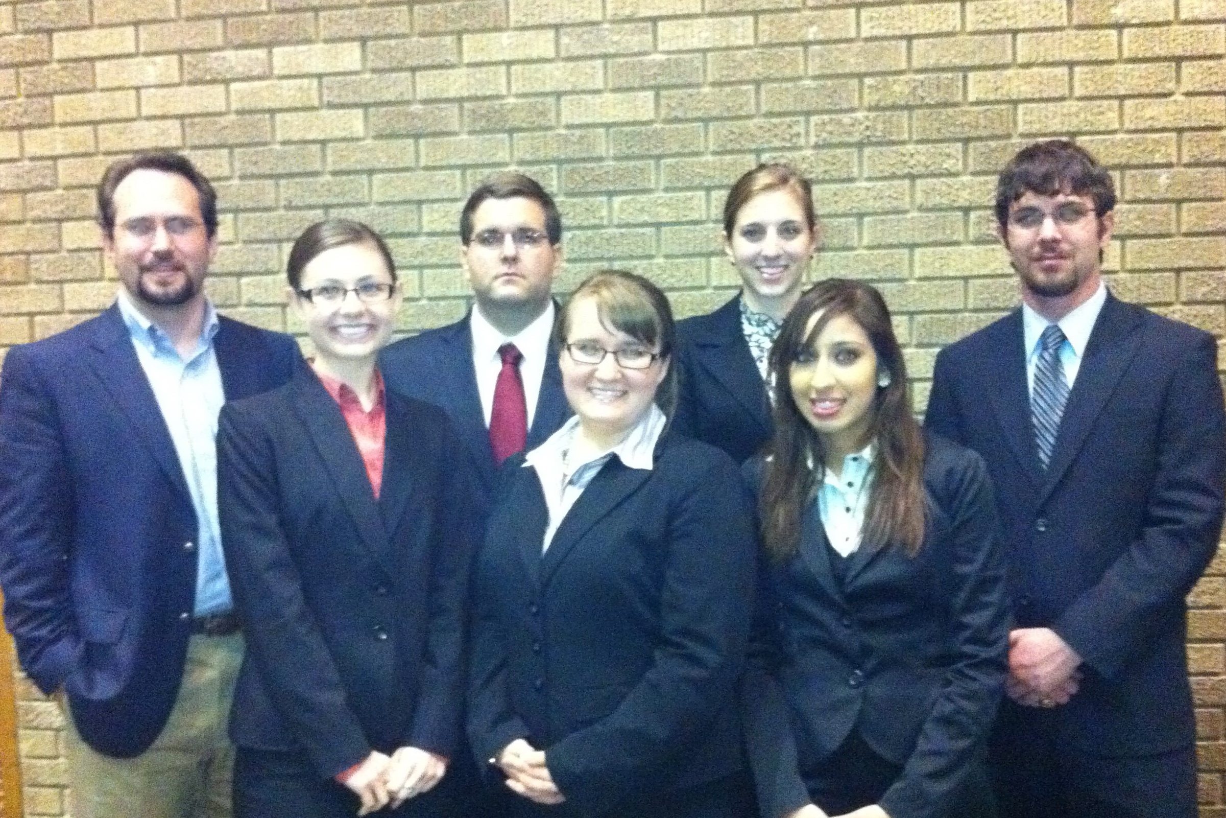 Moot Court_Texas Tech 2010 Group