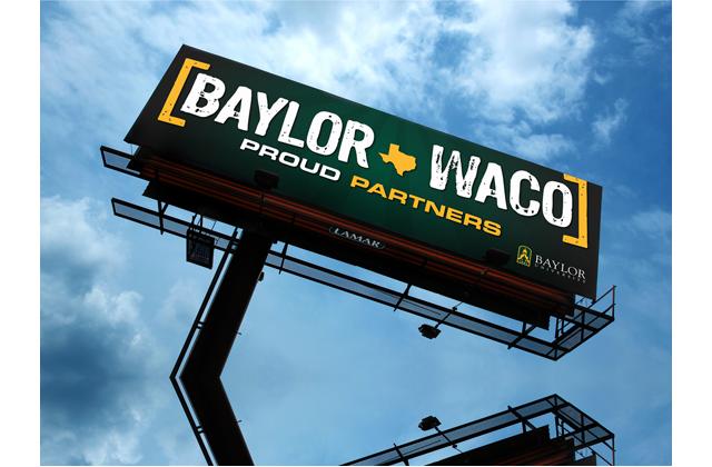 Baylor Waco Billboard