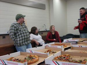 Pizza Party Fall 2010