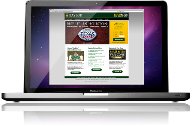 Baylor Nation Website