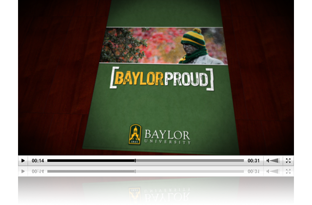 2010 Baylor Proud Christmas Card