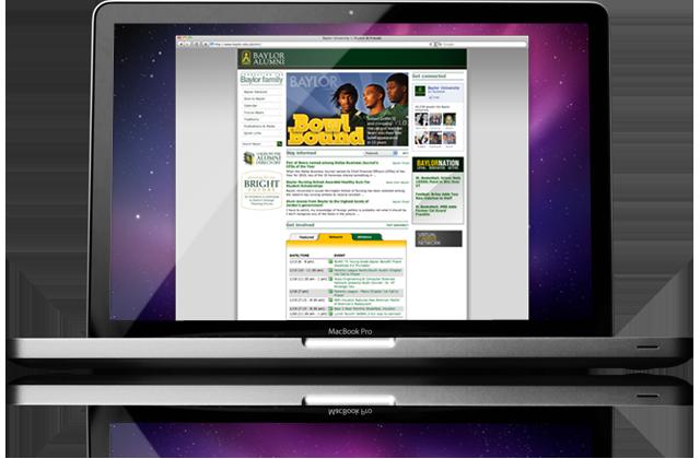 Baylor Alumni Website