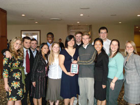 2007 Baylor MUN Team Award