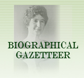 Slider - Biographical Gazetteer