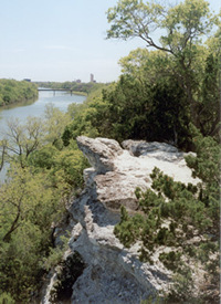 Brazos River in Waco (200w x 275h, 31 KB)