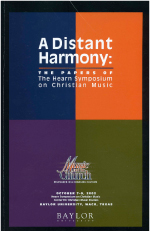 Faculty Publications - A Distant Harmony