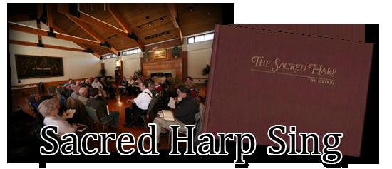 Sacred Harp Top Logo