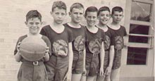 ymca basketball team