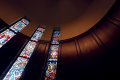 Stained Glass at Robbins Chapel
