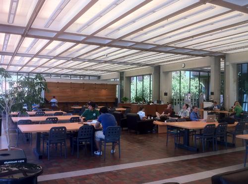 Open Foyer University : Starbucks allbritton foyer central libraries baylor