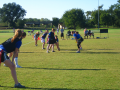 flag football,girls