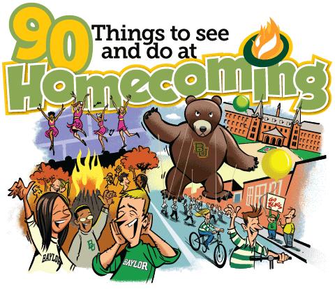 90 Things to see and do at Homecoming