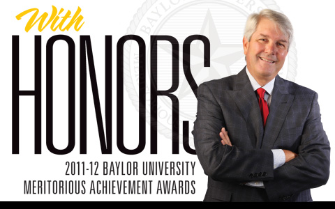 With honors: 2011-12 Baylor University Meritorious Achievement Award Winners