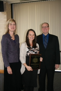Christina Crenshaw - 2010 Outstanding Grad Educator