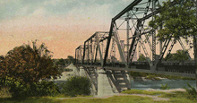 Waco tinterurban Bridge