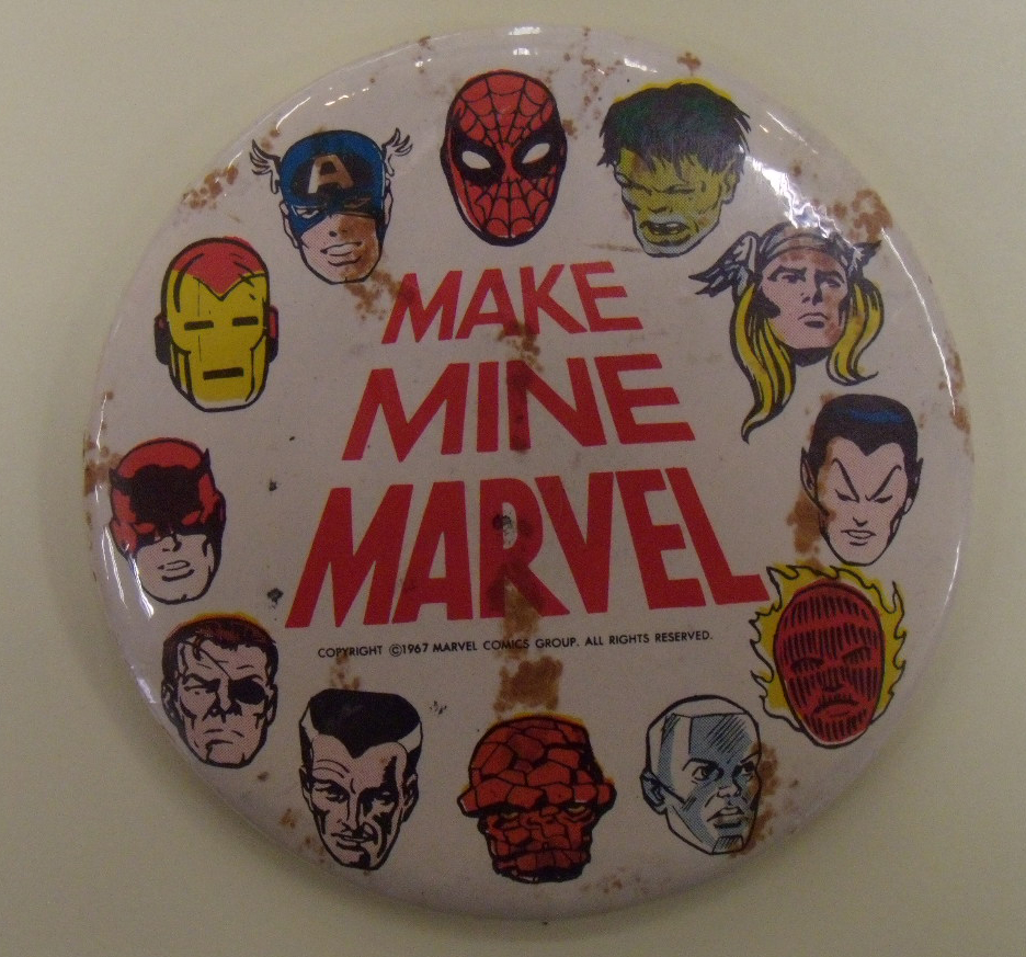 Marvel Button