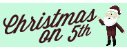 Christmas on 5th 2011 Button