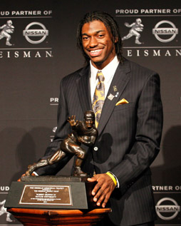 Robert Griffin III 2011 Heisman Trophy Winner