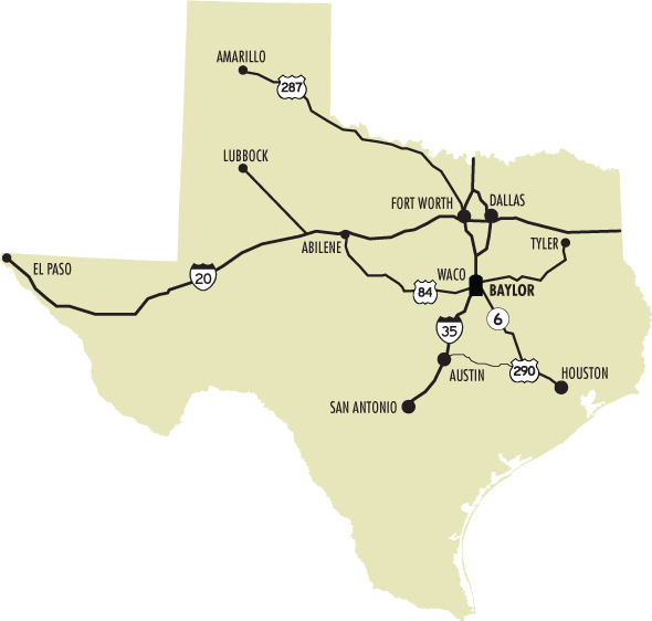 South Texas College Campus Map.Directions To Baylor Campus Map Baylor University