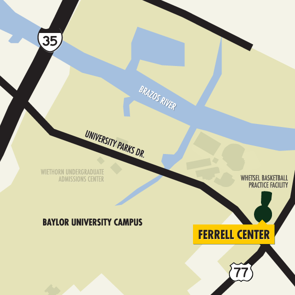 Directions to the Ferrell Center