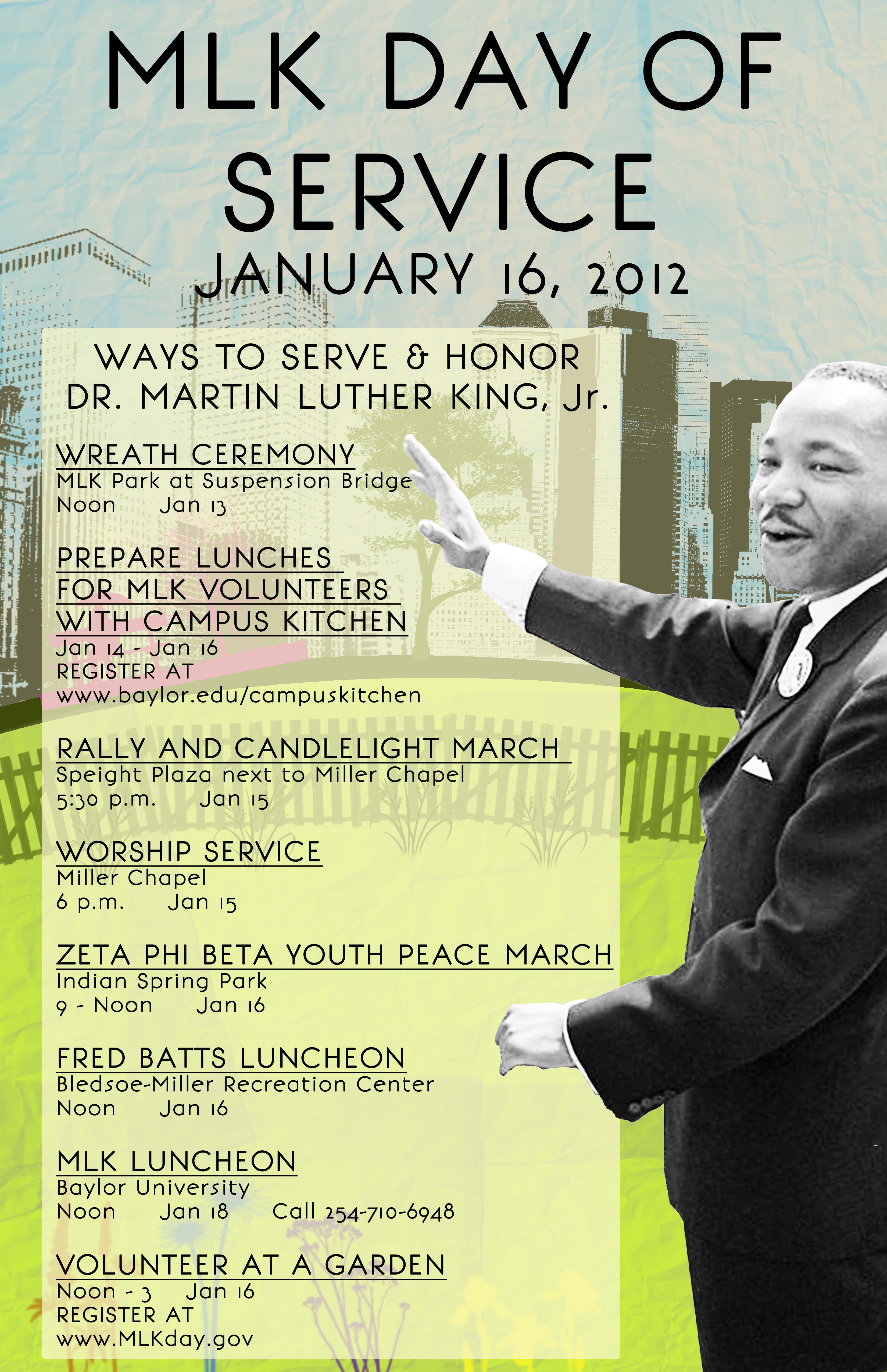 MLK Event Poster