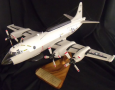 Navy Plane on wood stand