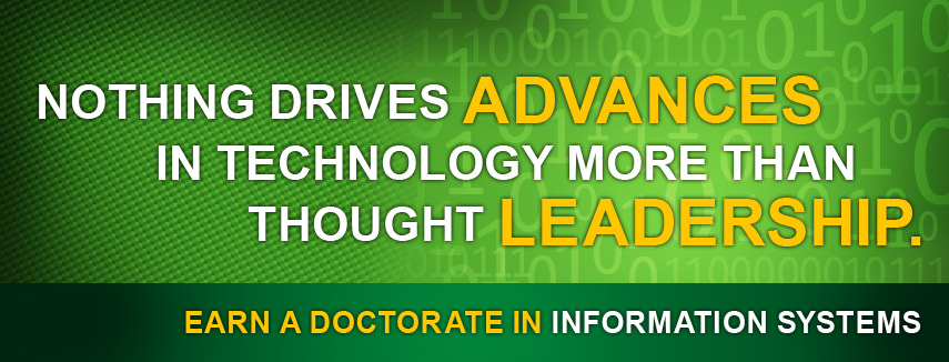 Earn A Doctorate in Information Systems