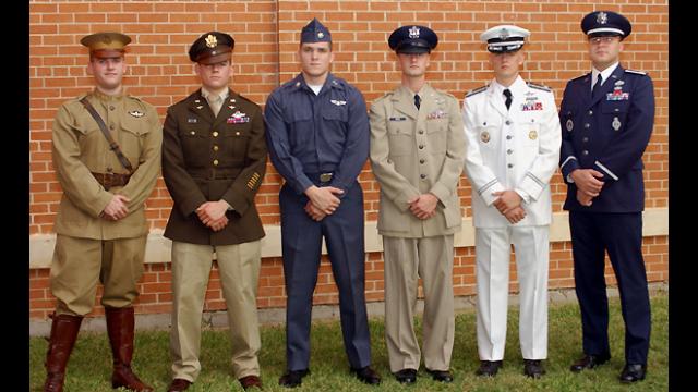 ROTC Cadet Presents Unique Uniform Show | Media ...