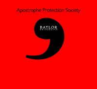 Apostrophe Society Shirt Front